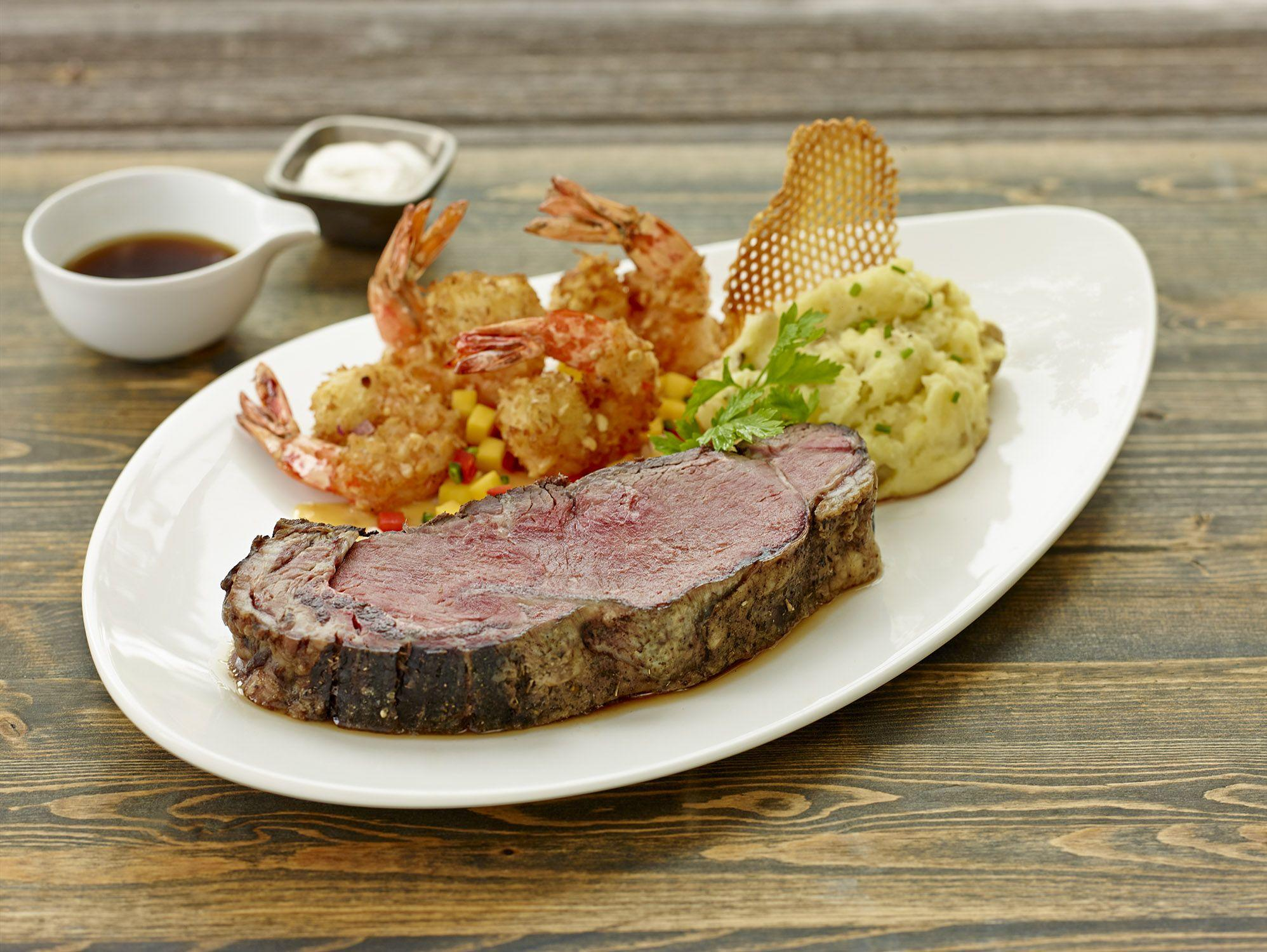 Prime Rib and Shrimp Gandy Dancer Ann Arbor (734)769-0592