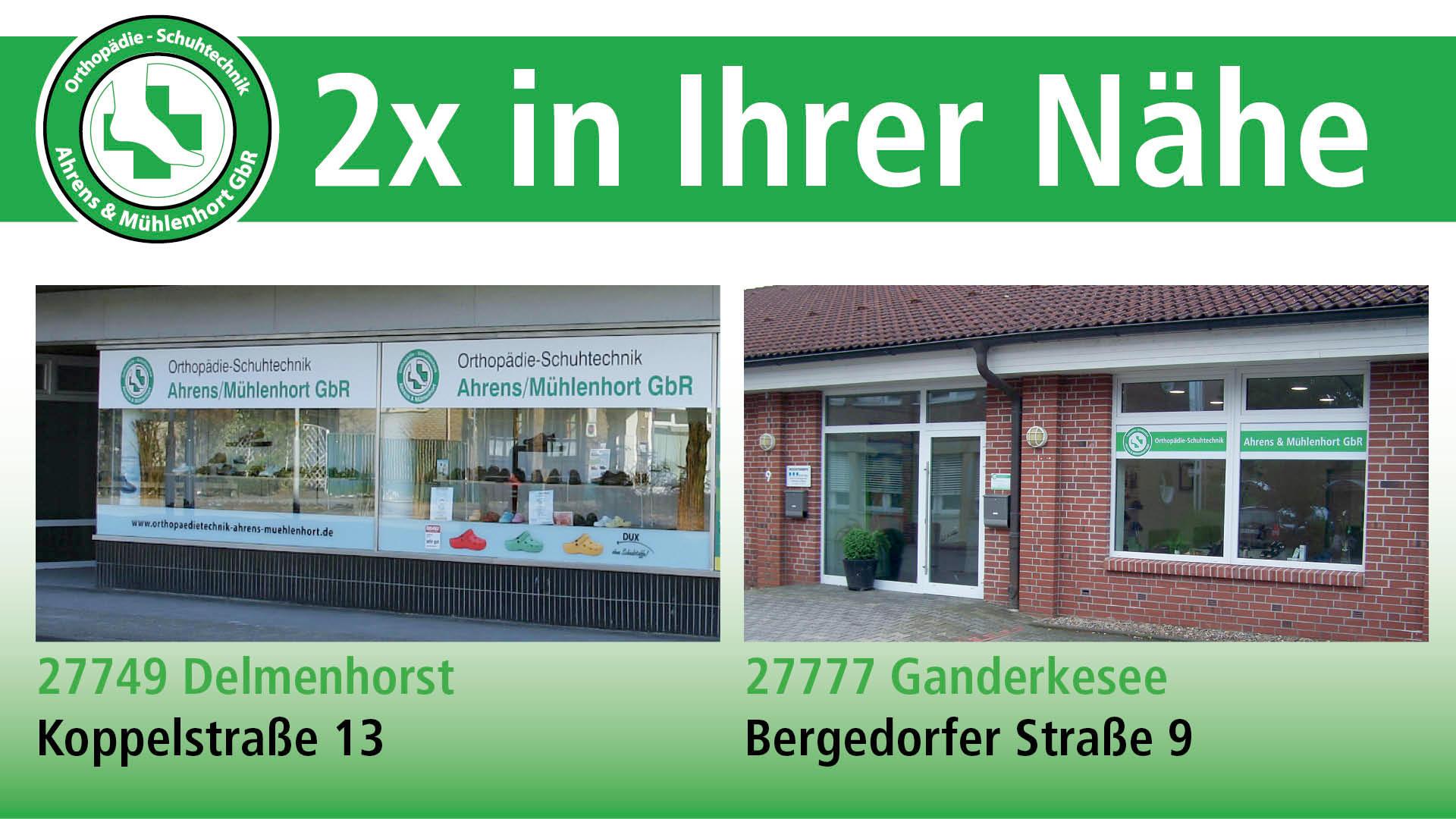 Orthopädie - Schuhtechnik Ahrens & Mühlenhort GbR
