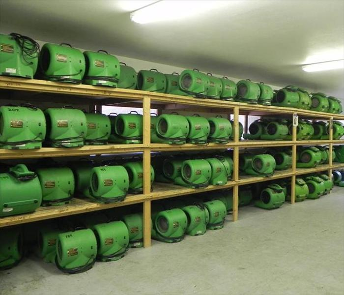 Prepared to handle any size disaster in Largo, Clearwater and surrounding areas, we've got our warehouse stocked with state of the art drying equipment. Whether it's a small water damage in your house or condo, to an entire building in need of a complete dry-out, no job is too big or too small for SERVPRO of Largo. With over 1600 frachises, we've got the equipment and man-power for any size job, anytime and anywhere! Give us a call to handle your next water damage claim. SERVPRO of Largo (727) 586-0060