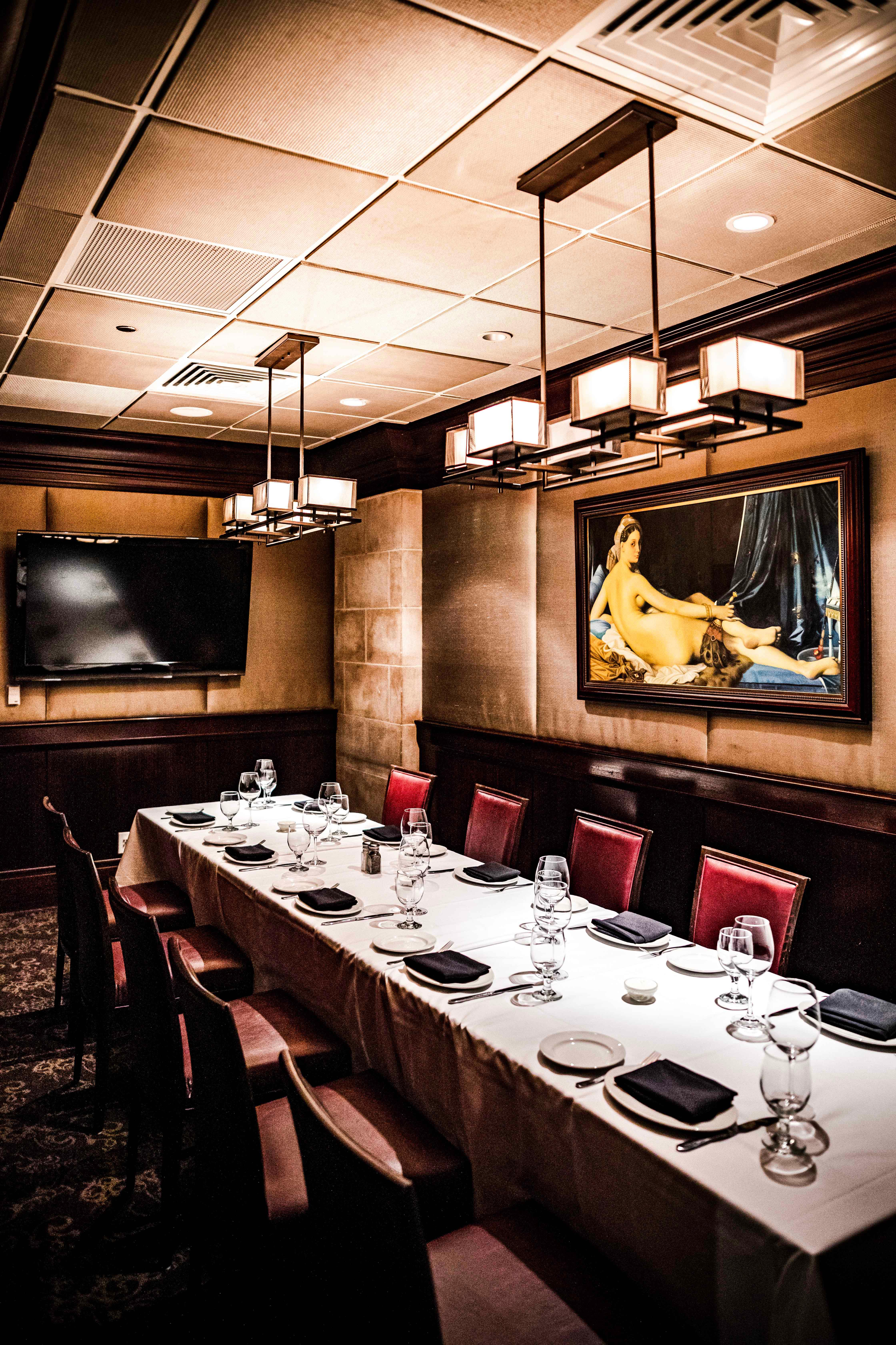 Del Frisco's Double Eagle Steakhouse Philadelphia The Furino private dining room