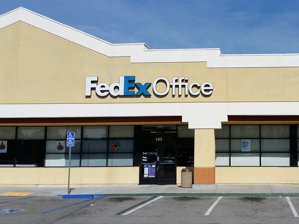 Fedex Office Print Ship Center Corona California Ca