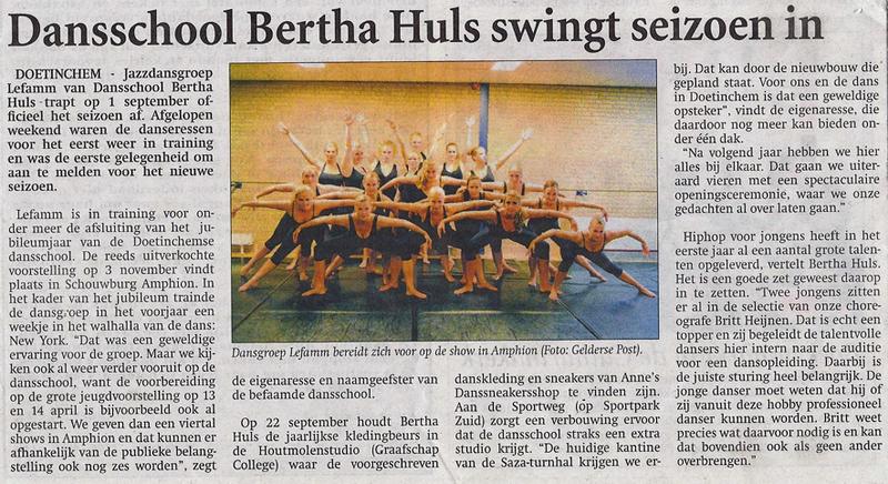 Bertha Huls Dansschool