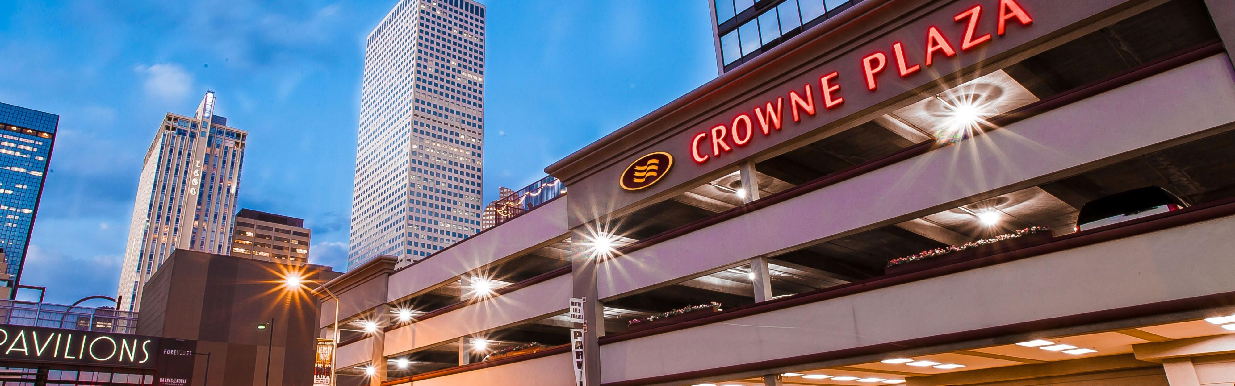 Crowne Plaza Hotel Downtown Denver Colorado