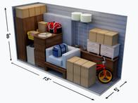 5x15 Storage Unit Size Guide