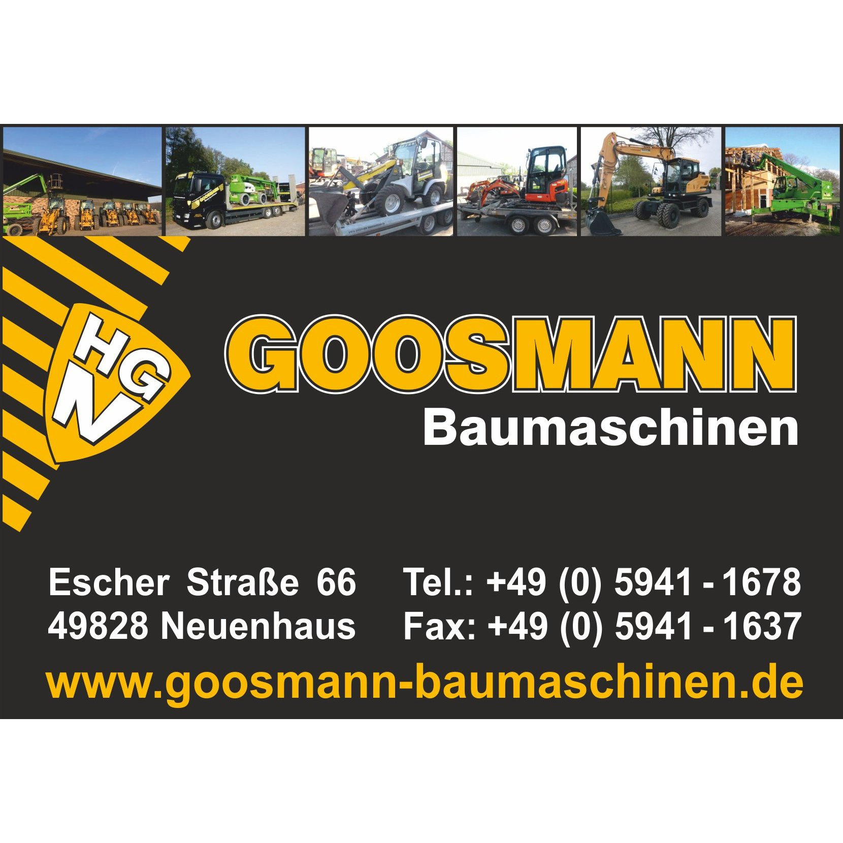 Bild zu Goosmann Baumaschinen GmbH in Neuenhaus Dinkel