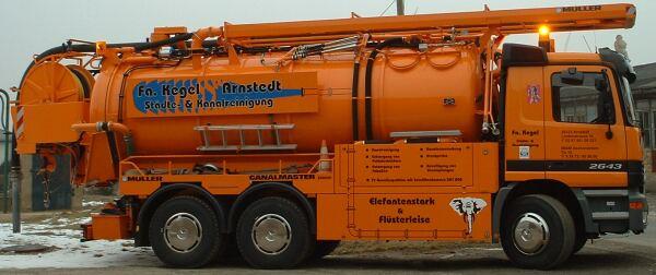 Kegel Lutz Städte- und Kanalreinigung Abwasserentsorgung