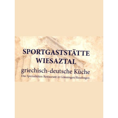 Bild zu Sportgaststätte Wiesaztal - Inhaber Zisis Papasimopoulous in Reutlingen