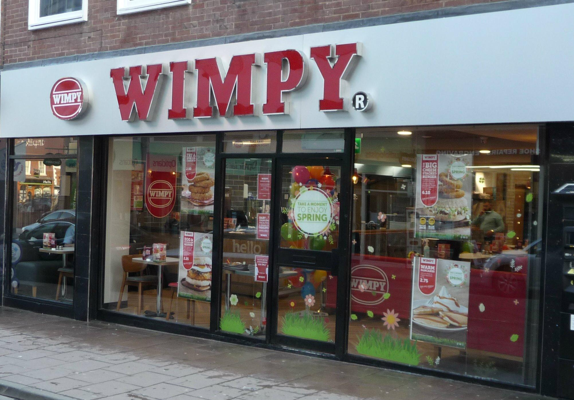 Wimpy - Shrewsbury, Shropshire SY1 1QG - 01743 354443 | ShowMeLocal.com