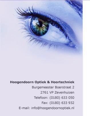 Hoogendoorn Optiek-Hoortechniek BV