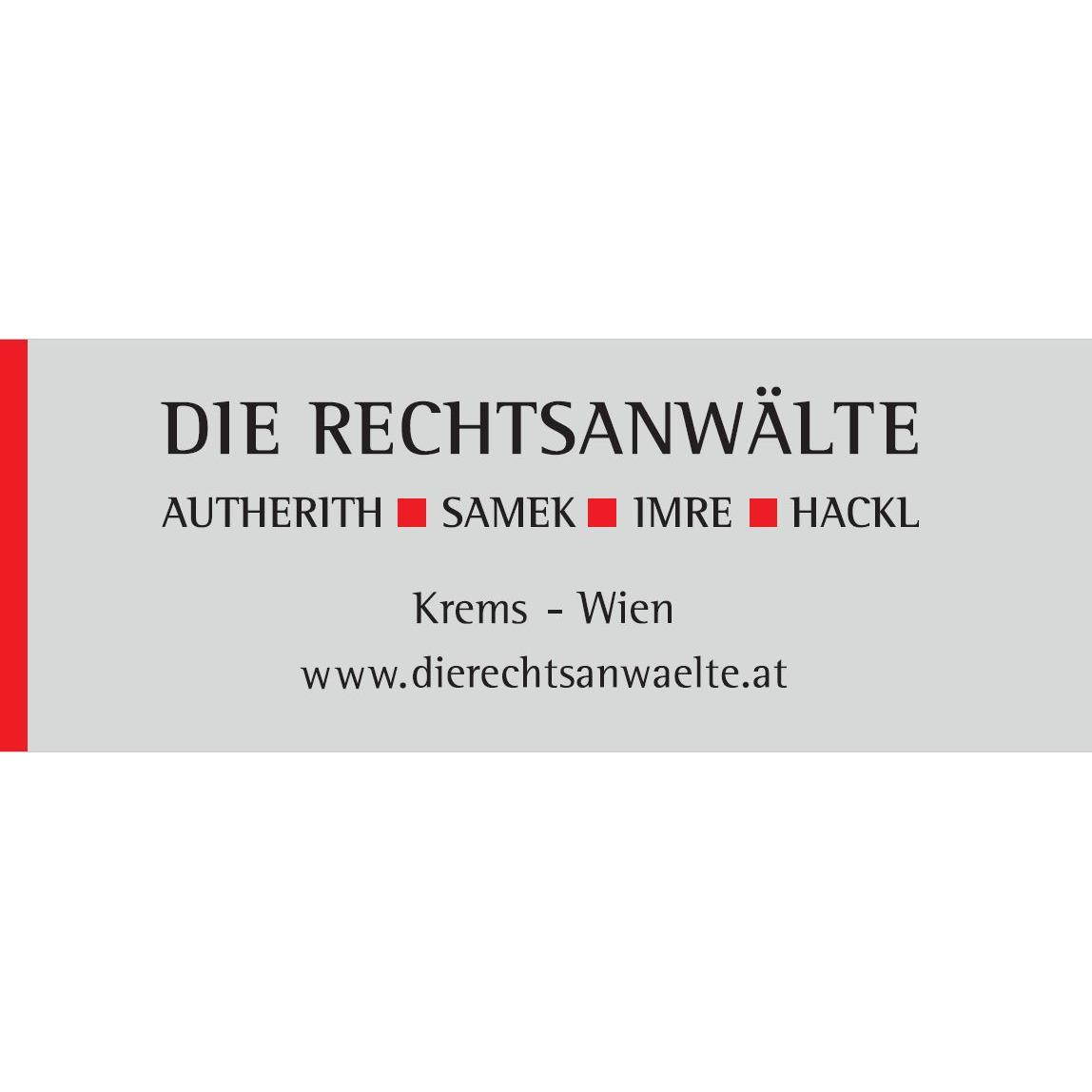 Die Rechtsanwälte Autherith - Samek - Imre - Hackl