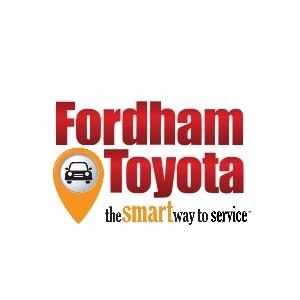 Fordham Toyota Service and Parts Departments
