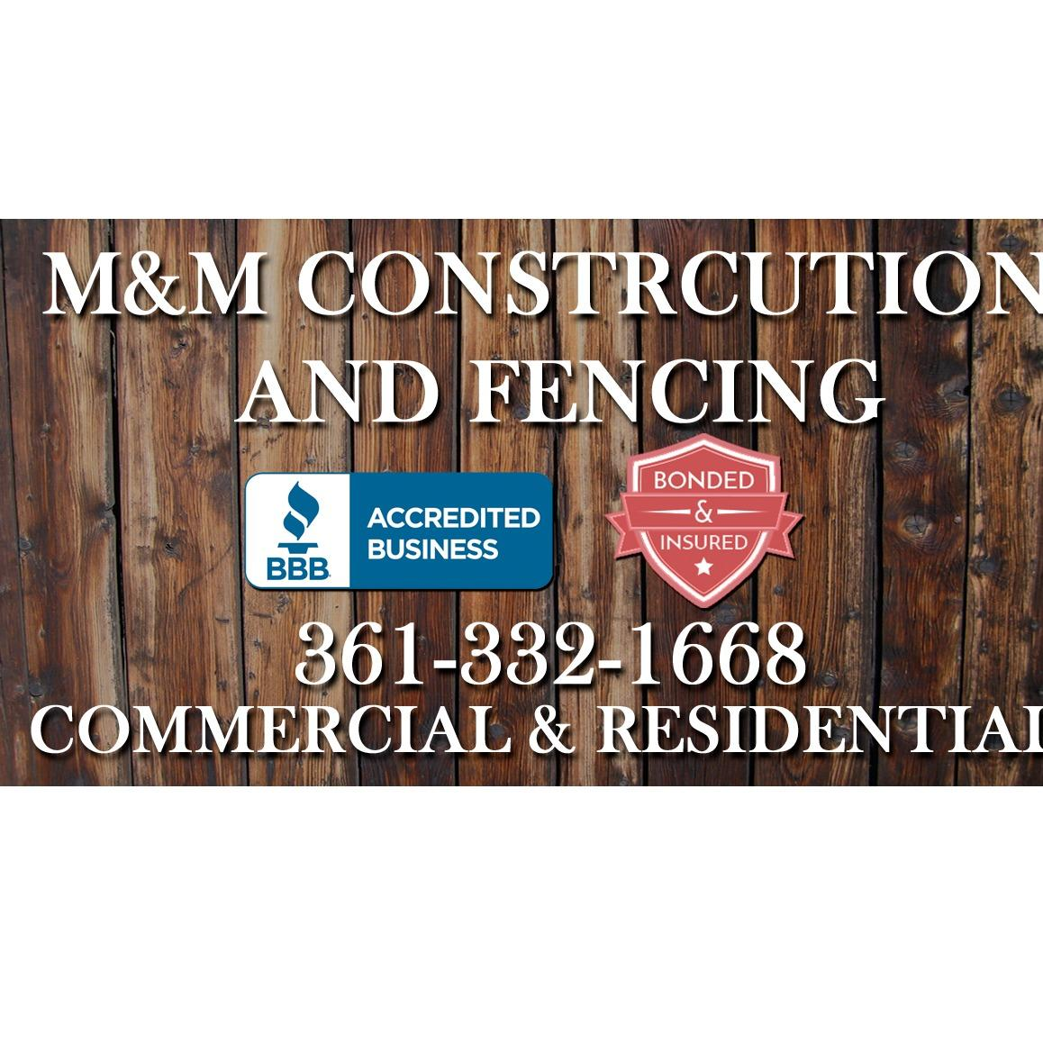 M&M Construction and Fencing