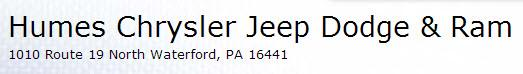 Humes Chrysler Jeep Dodge & Ram image 0