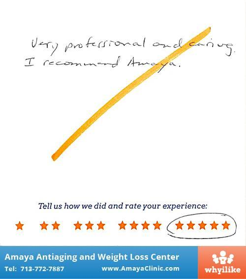 Amaya Antiaging and Weight Loss Center, Katy Texas ...