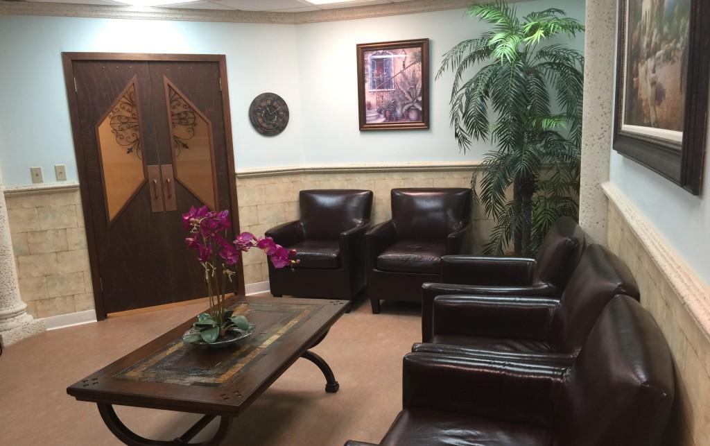 Our lobby Dr. Andre G. Grenier, DMD Plantation (954)473-1806