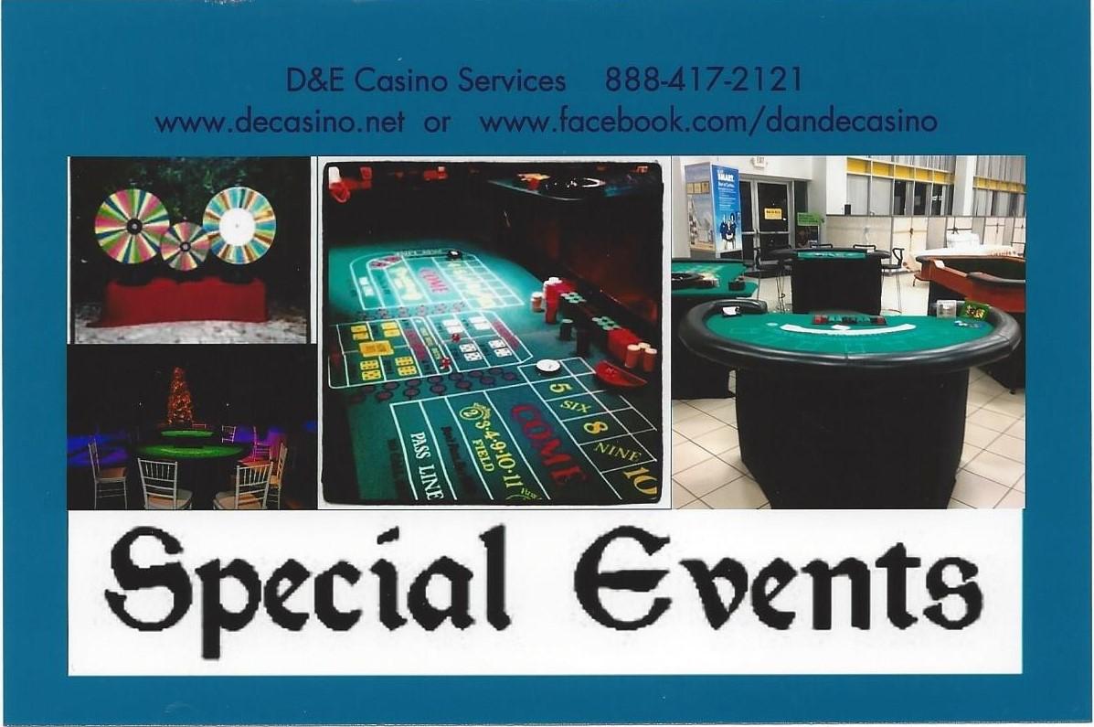 d and e casino