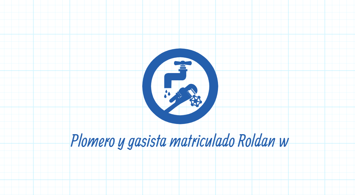 PLOMERO Y GASISTA MATRICULADO ROLDAN W