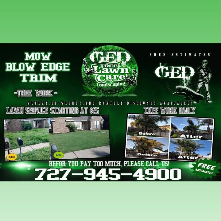 GED Tree & Lawn Care - St. Petersburg, FL 33705 - (727)945-4900   ShowMeLocal.com