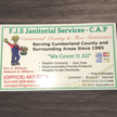 F.J.S. Janitorial Services - C.A.P.
