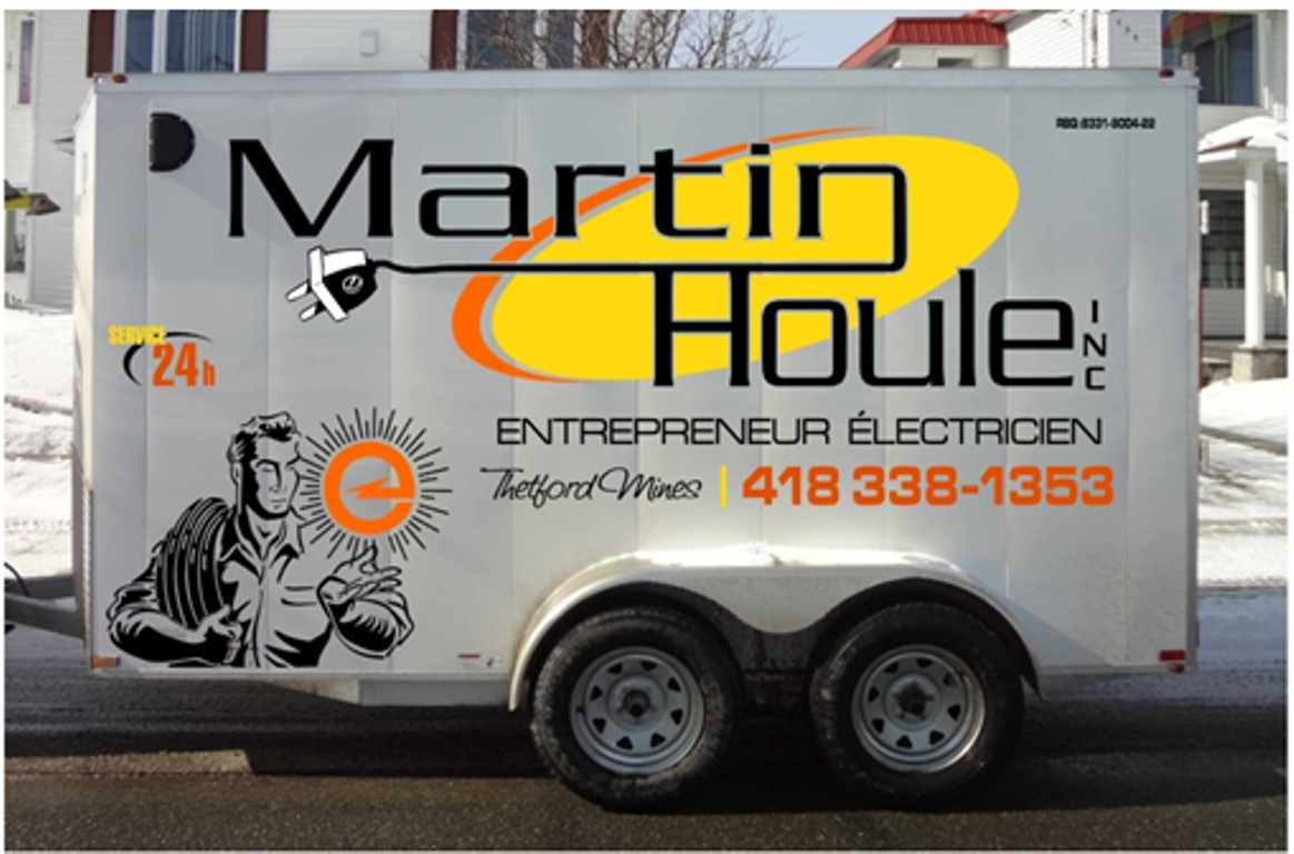 Houle Martin Entrepreneur Electricien Thetford Mines (418)338-1353