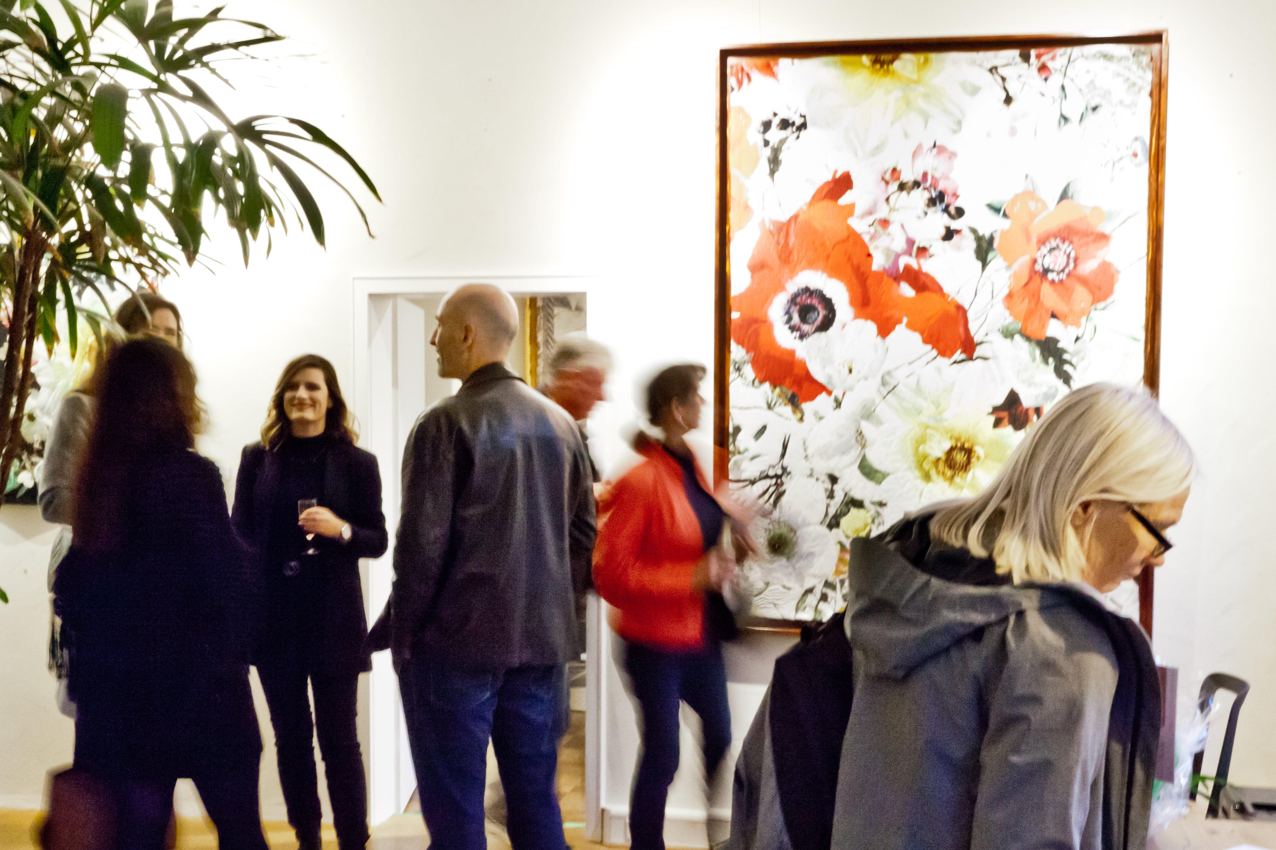 Ausstellung bei NOMY Art & Design Showroom in Freiburg.