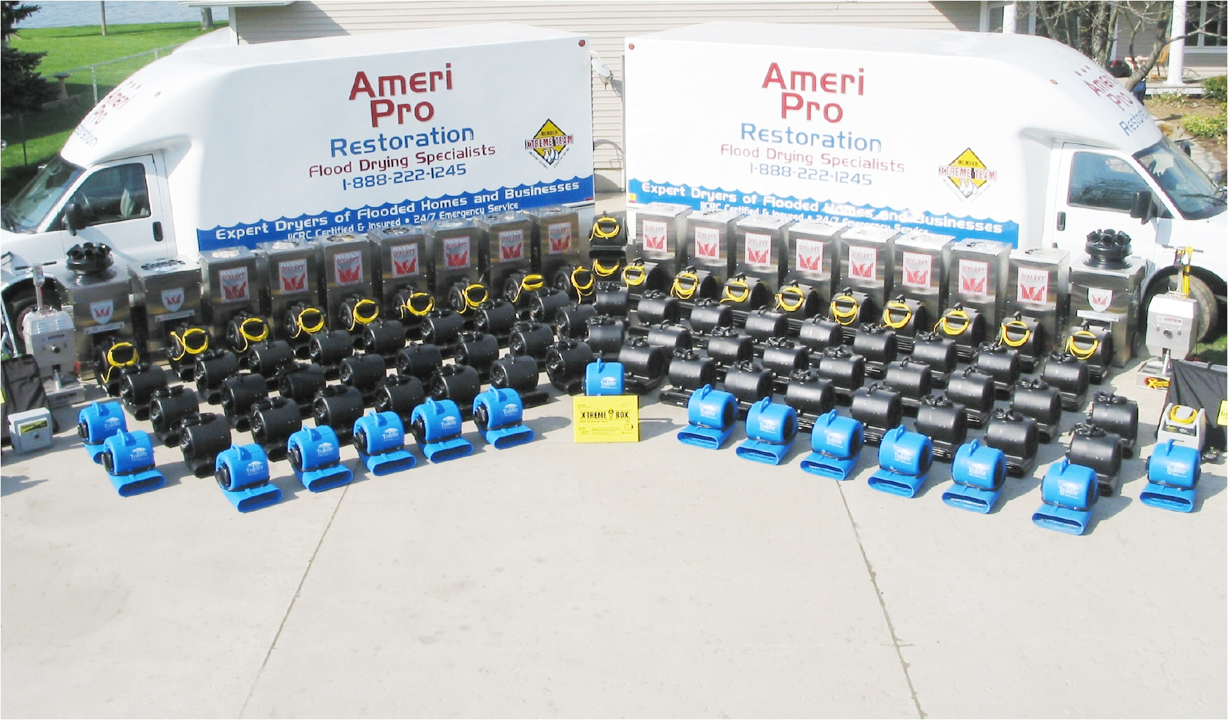 Ameri pro restoration llc in grand ledge mi 48837 for Pro equipement restauration