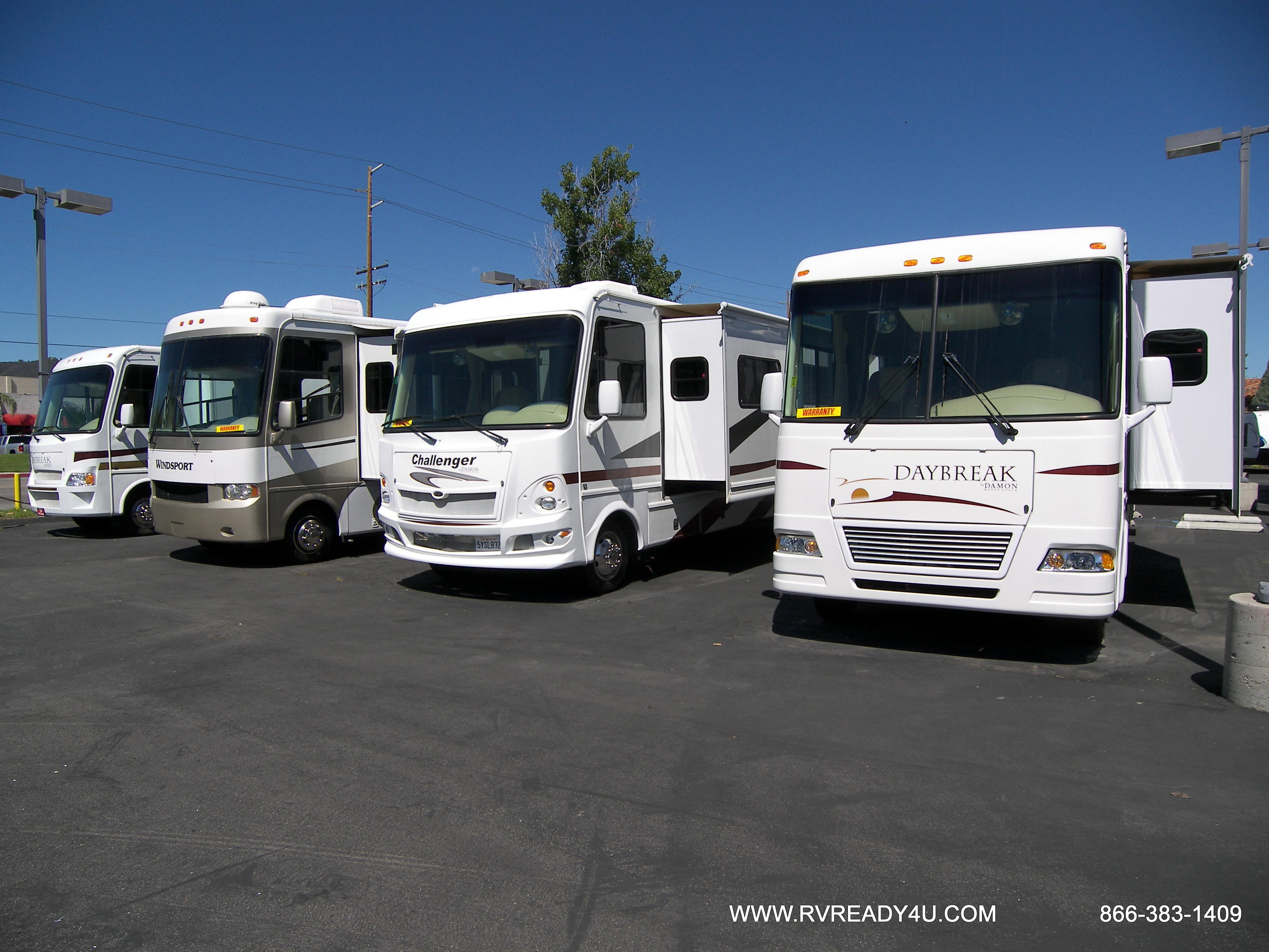 Amazing Motor Homes For Sale Southern California  Conejo RV