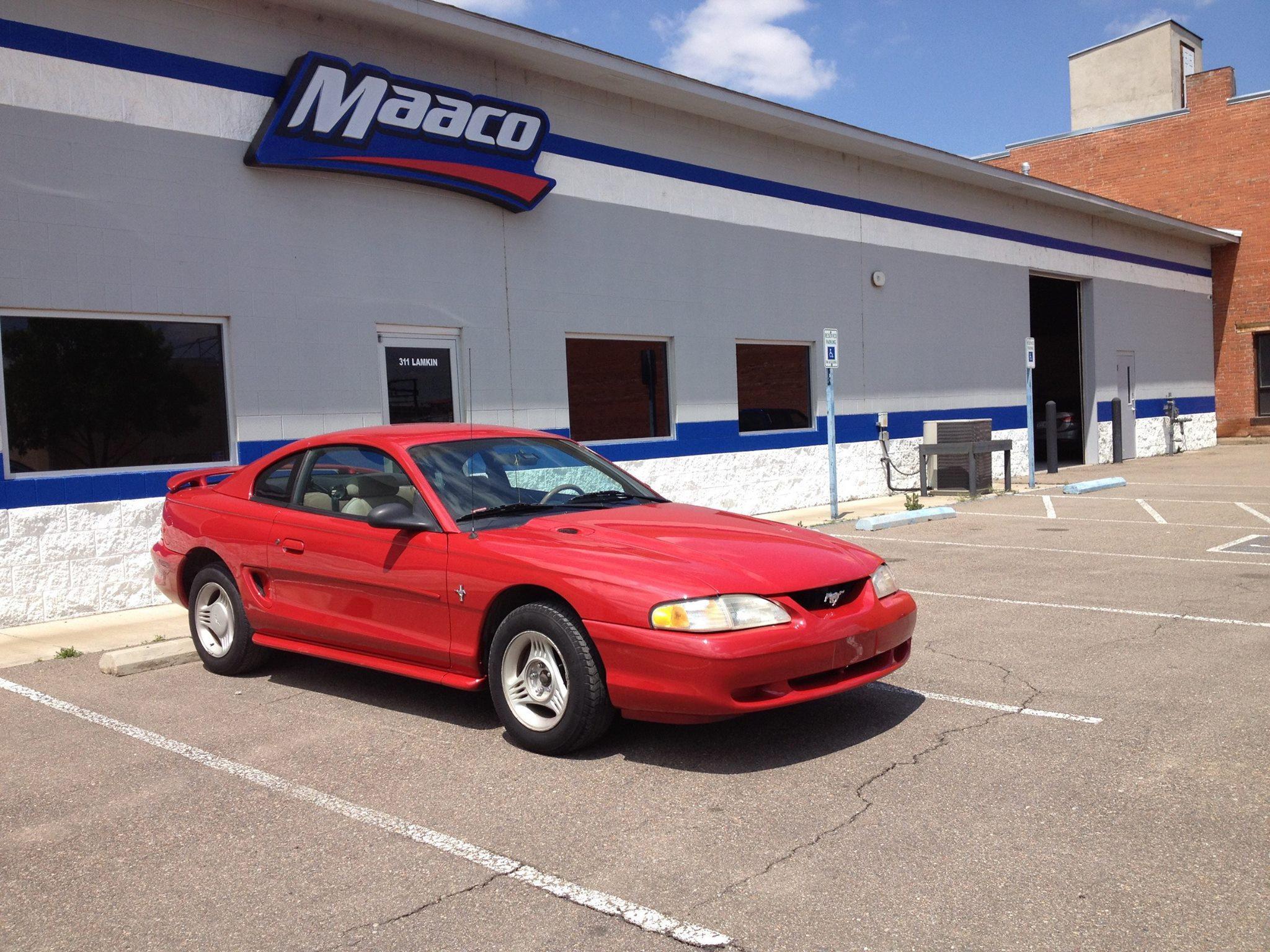 Maaco collision repair auto painting pueblo colorado for Maaco paint reviews