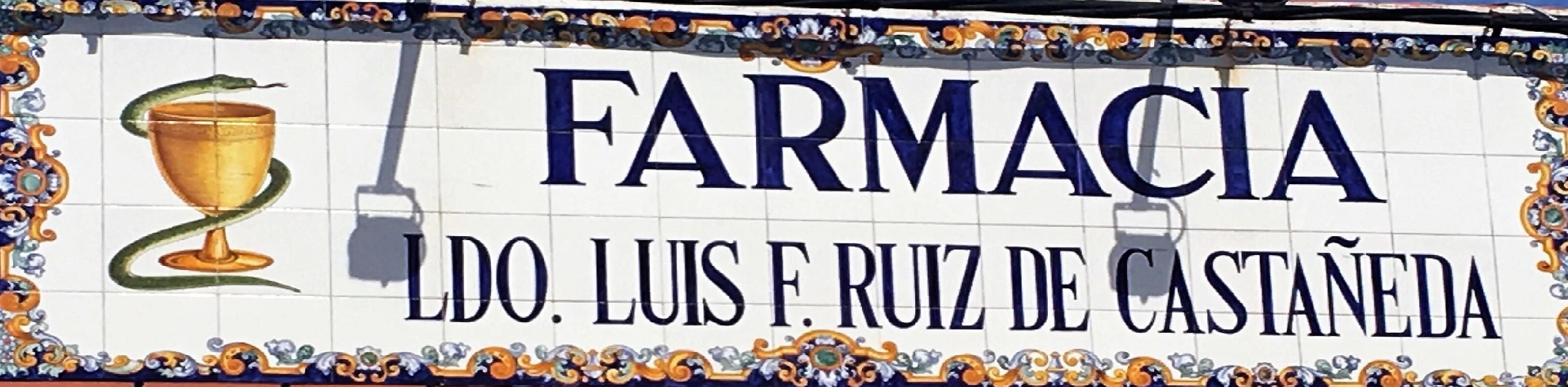 Farmacia Ldo. Luis F. Ruiz de Castañeda