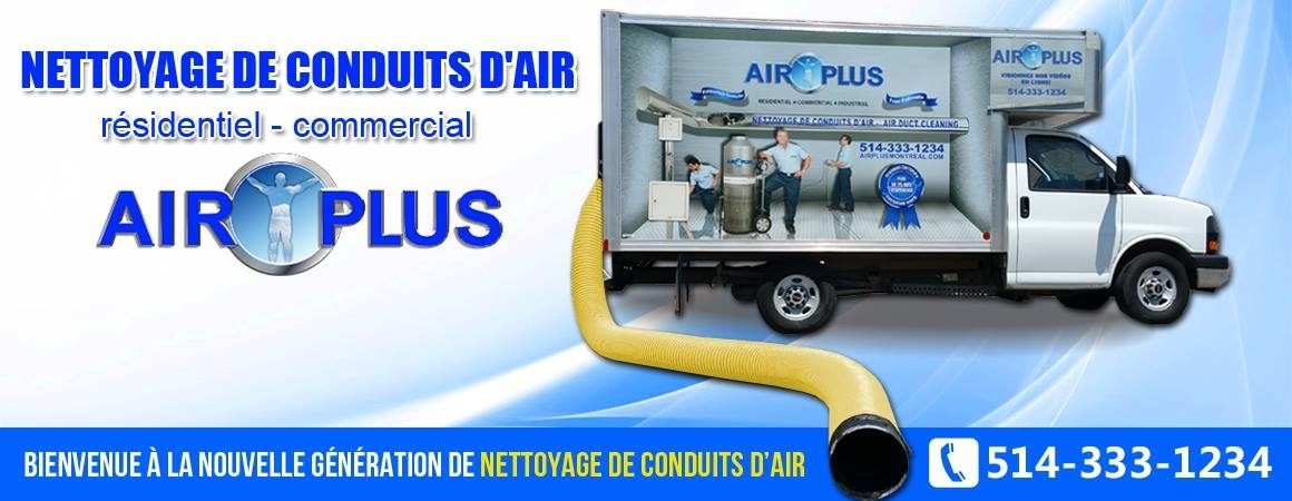 Air Plus Montreal Nettoyage de Conduits d'Air à Saint-Laurent