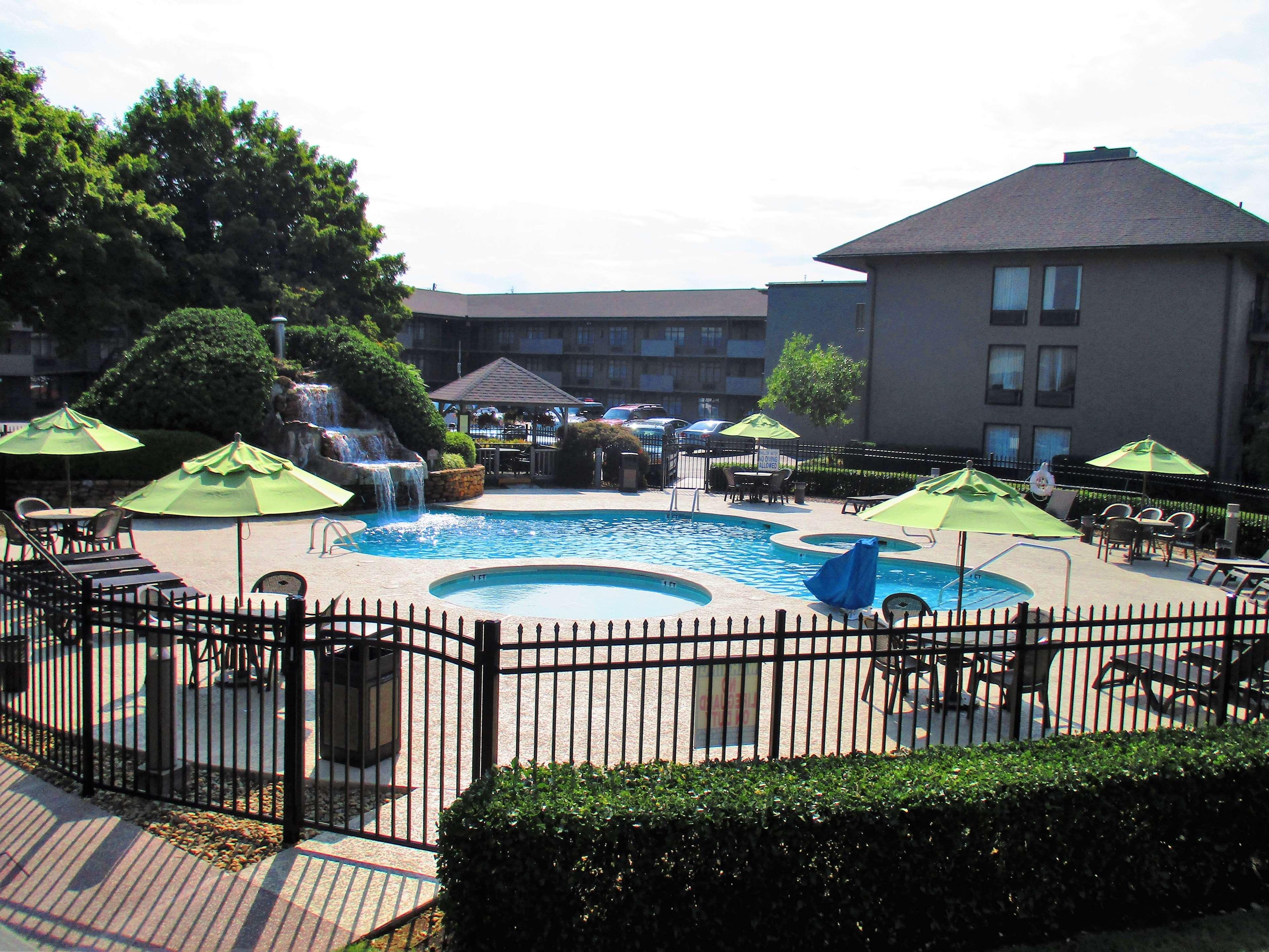 Best Western Plaza Inn Pigeon Forge Tennessee Tn