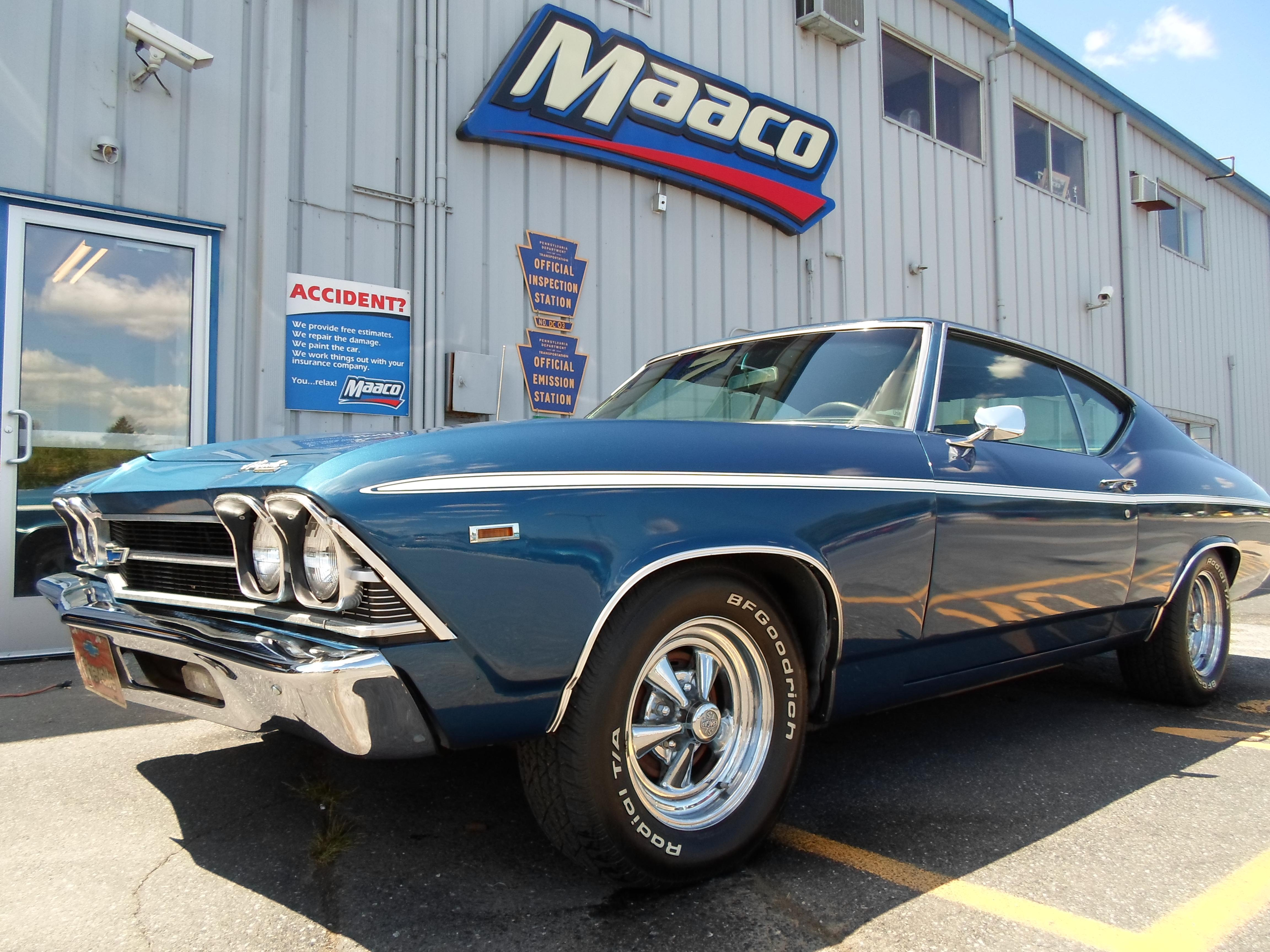 Maaco collision repair auto painting middletown for Maaco paint reviews