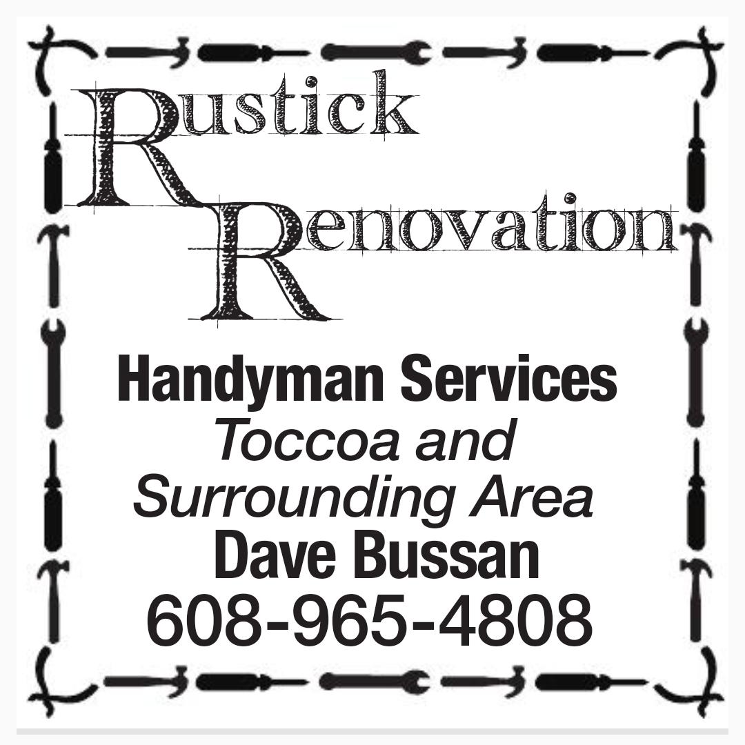 Rustick Renovation - Toccoa, GA - Handyman Services