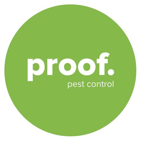 proof. Pest Control