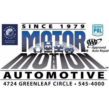 Motor motion automotive in modesto ca 95356 for Electric motor rebuild shop near me