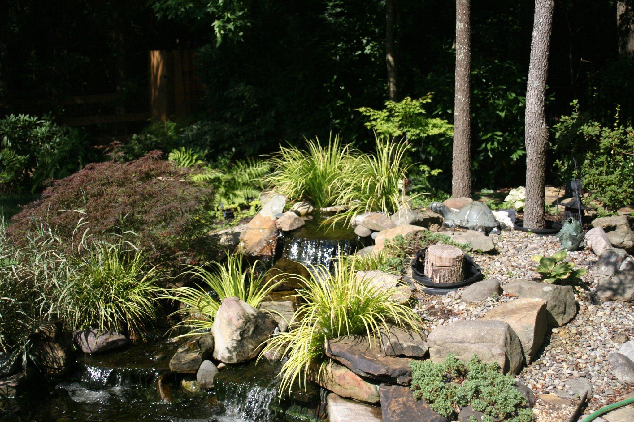 Barnhardt landscaping design inc matthews north for Garden design inc