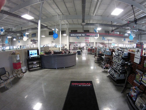 A shot of inside the new Tampa location