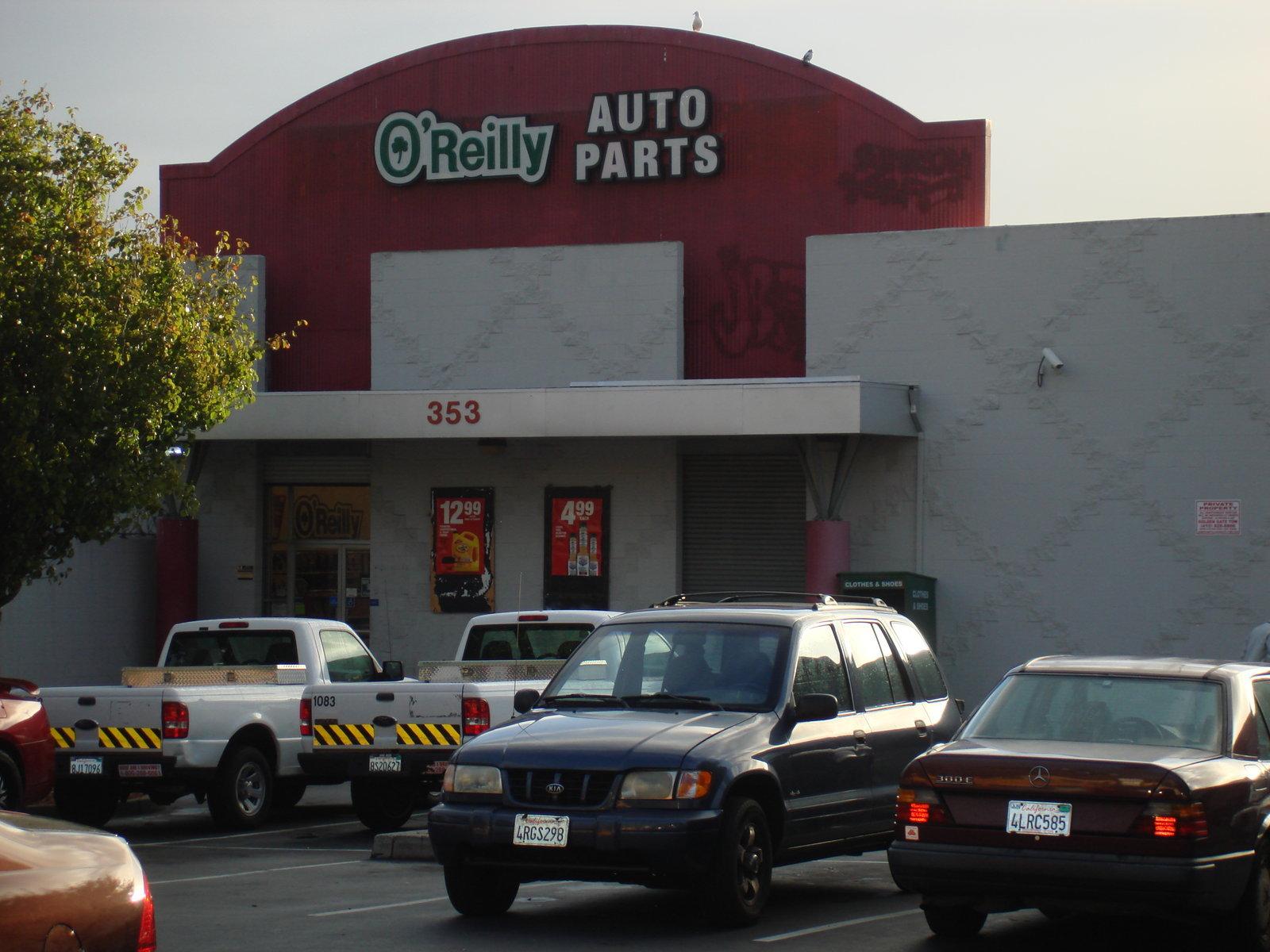 O 39 reilly auto parts san francisco california ca for Royal motors sf service