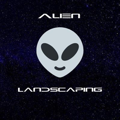Alien Landscaping Logo