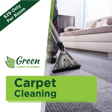 Local Carpet Cleaning - Green Carpet's Cleaning