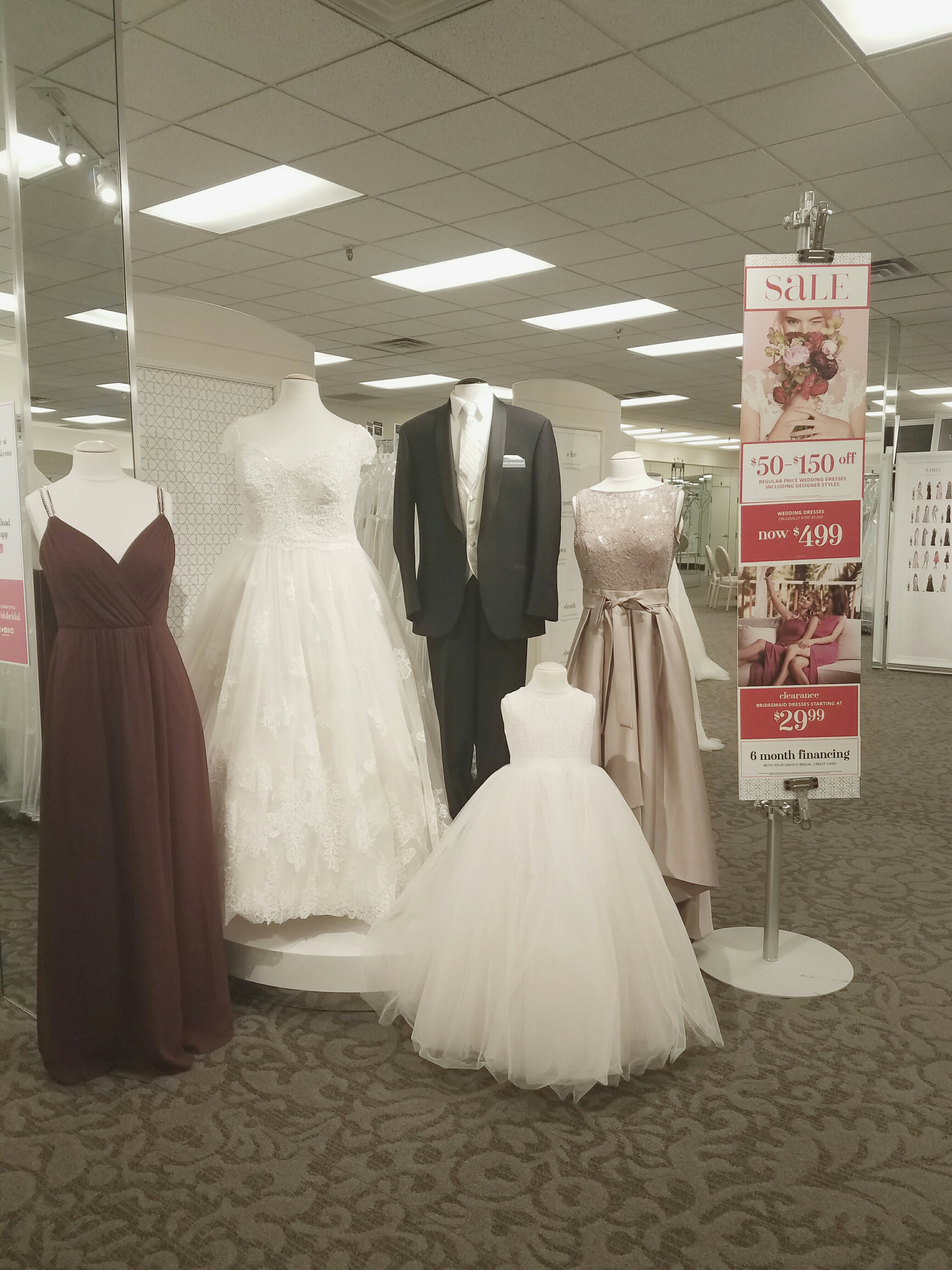 David 39 s bridal in roseville mn 55113 for Wedding dress alterations roseville ca