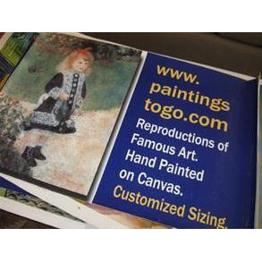 PaintingsToGo Museum-Quality Oil Painting Reproductions Handmade of Famous Artists