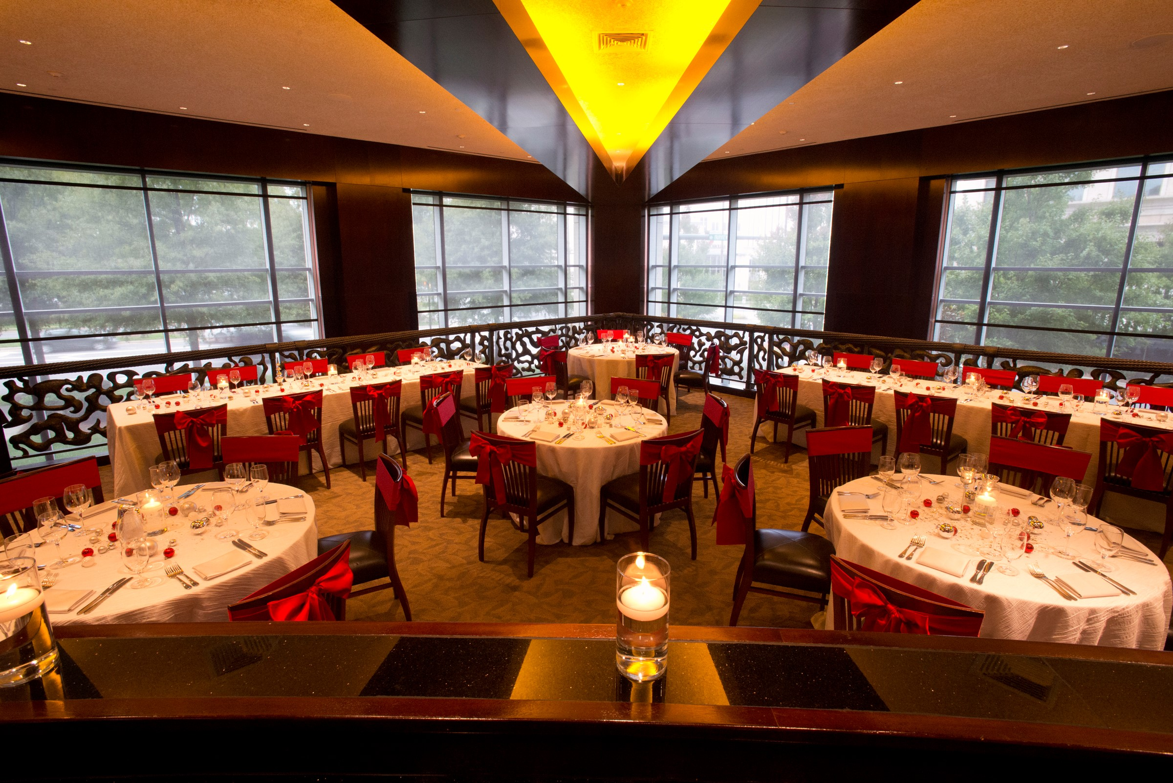 Del Frisco's Double Eagle Steak House Charlotte Mezzanine Point private dining room