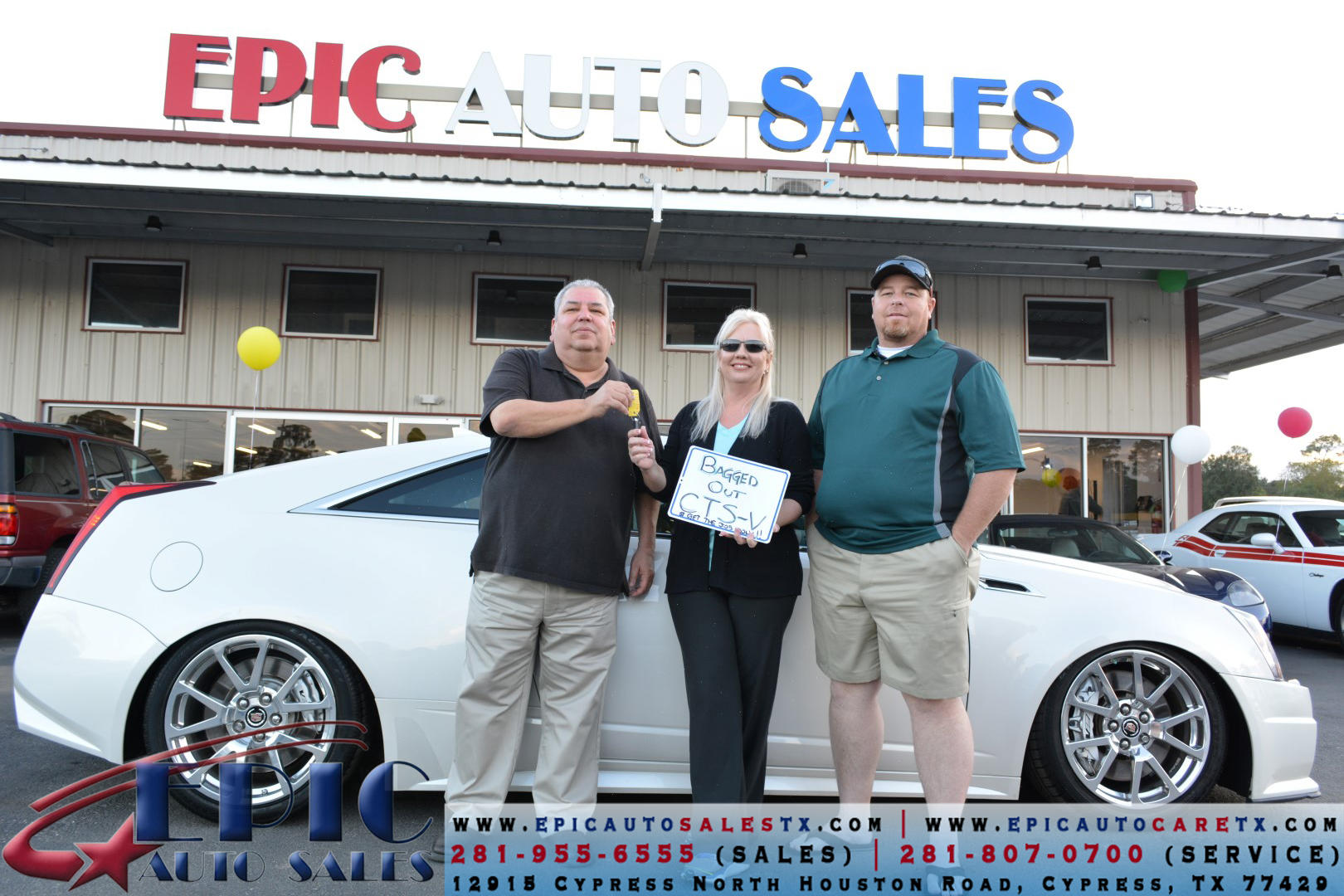 Epic Auto Sales >> Epic Auto Sales In Cypress Tx 77429 Chamberofcommerce Com