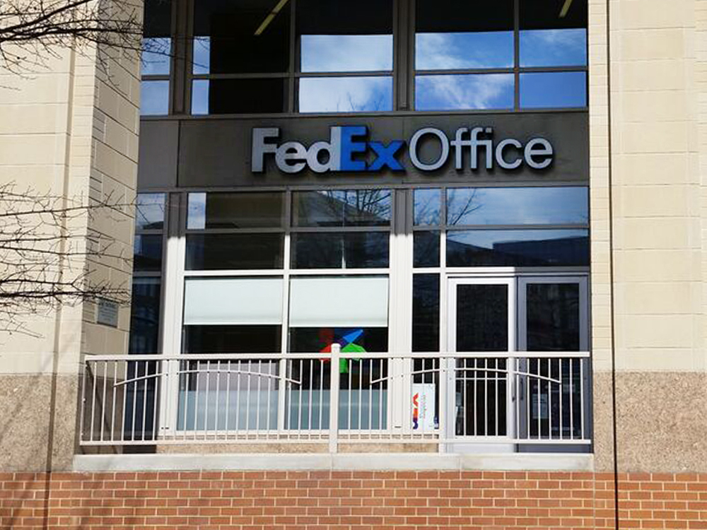 Fedex office print ship center arlington virginia va for Kinkos t shirt printing