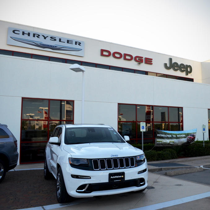 AutoNation Chrysler Dodge Jeep Ram Spring In Spring, TX