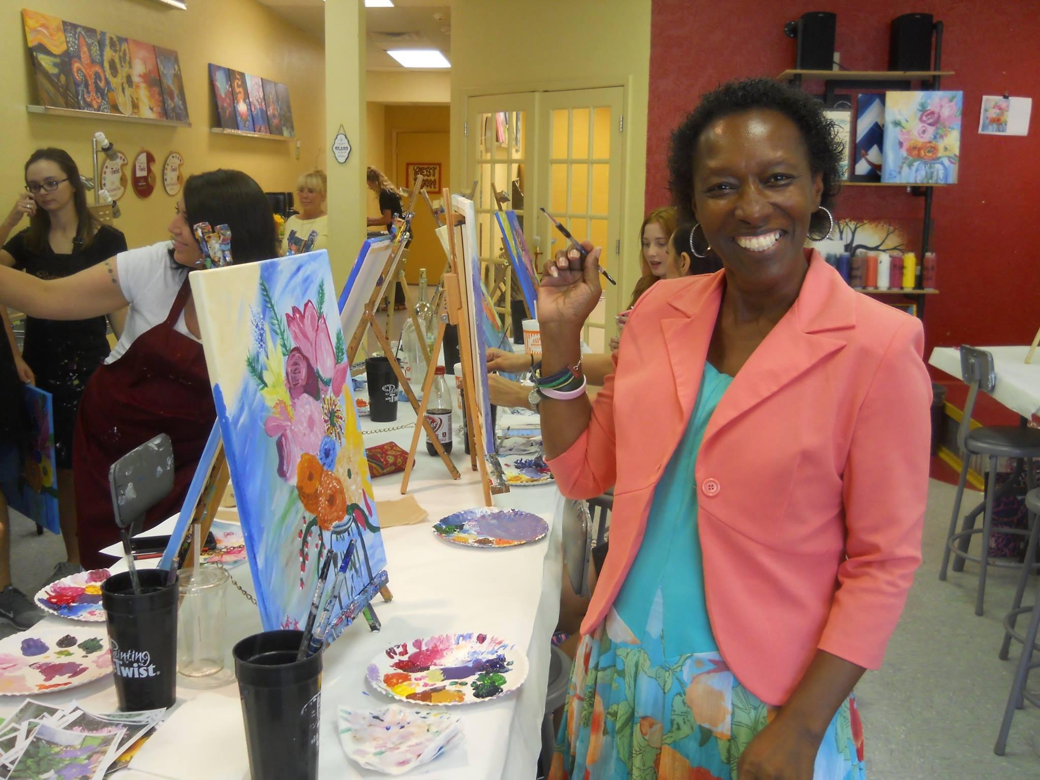 Painting with a twist in beaumont tx 77706 for Painting with a twist chicago