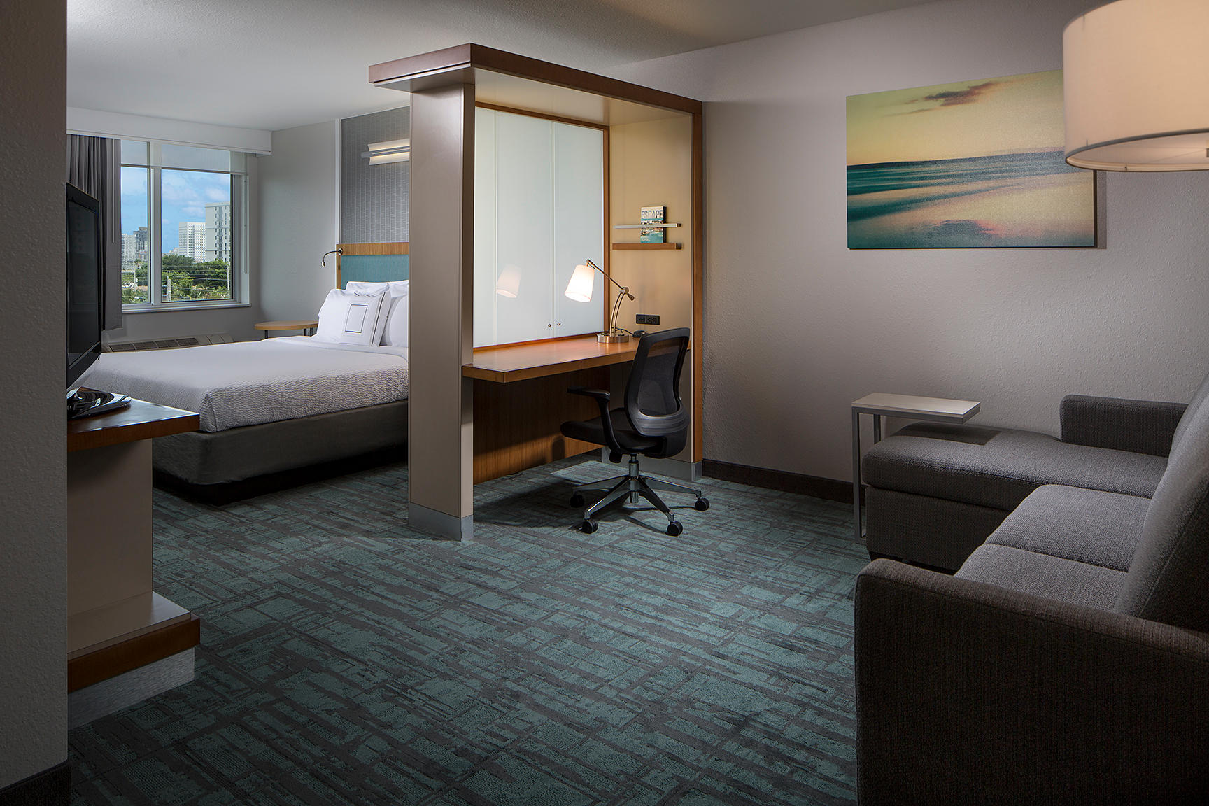 Springhill Suites By Marriott Miami Downtown Medical Center Miami Florida Fl