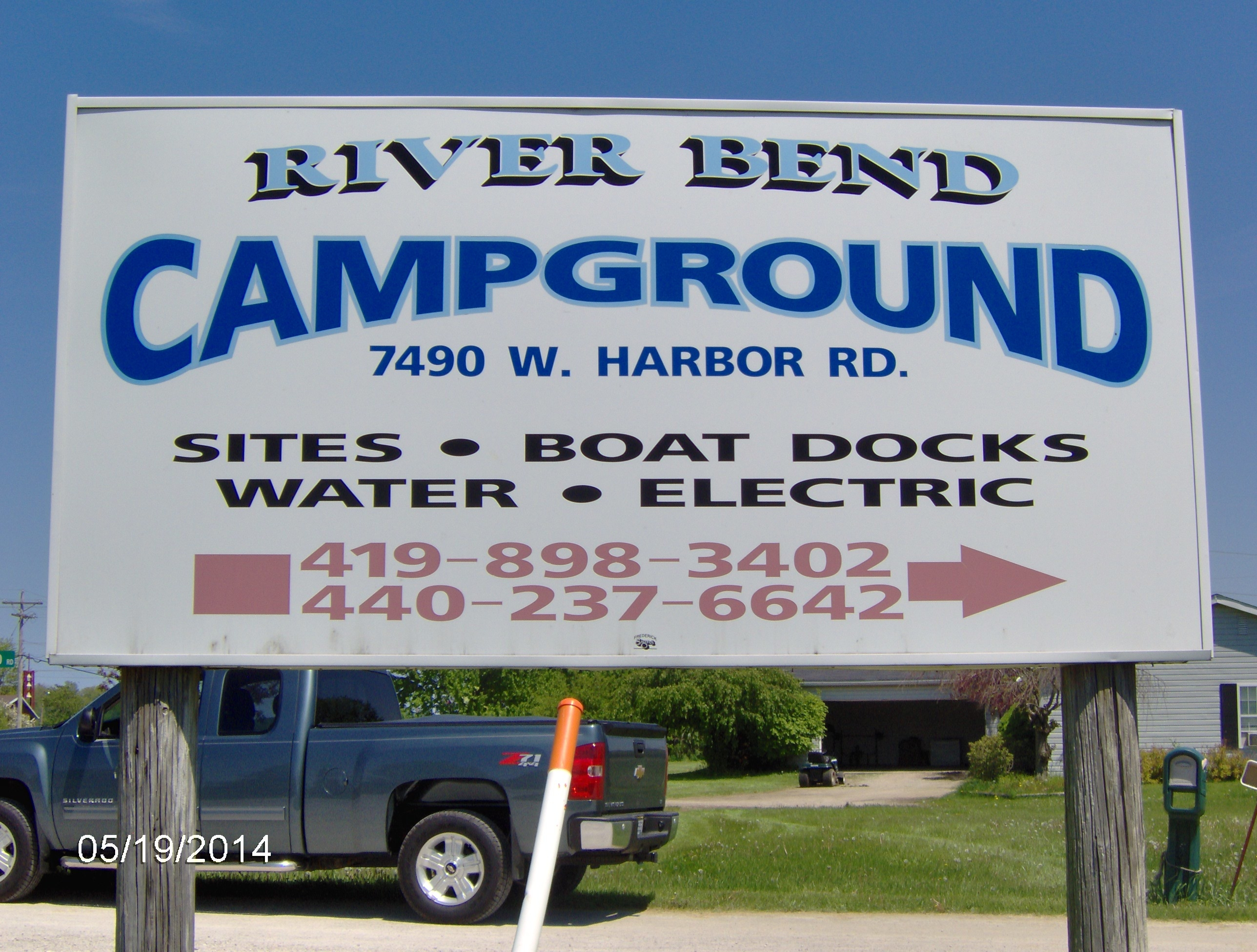 Riverbend Campground LLC Port Clinton Ohio OH