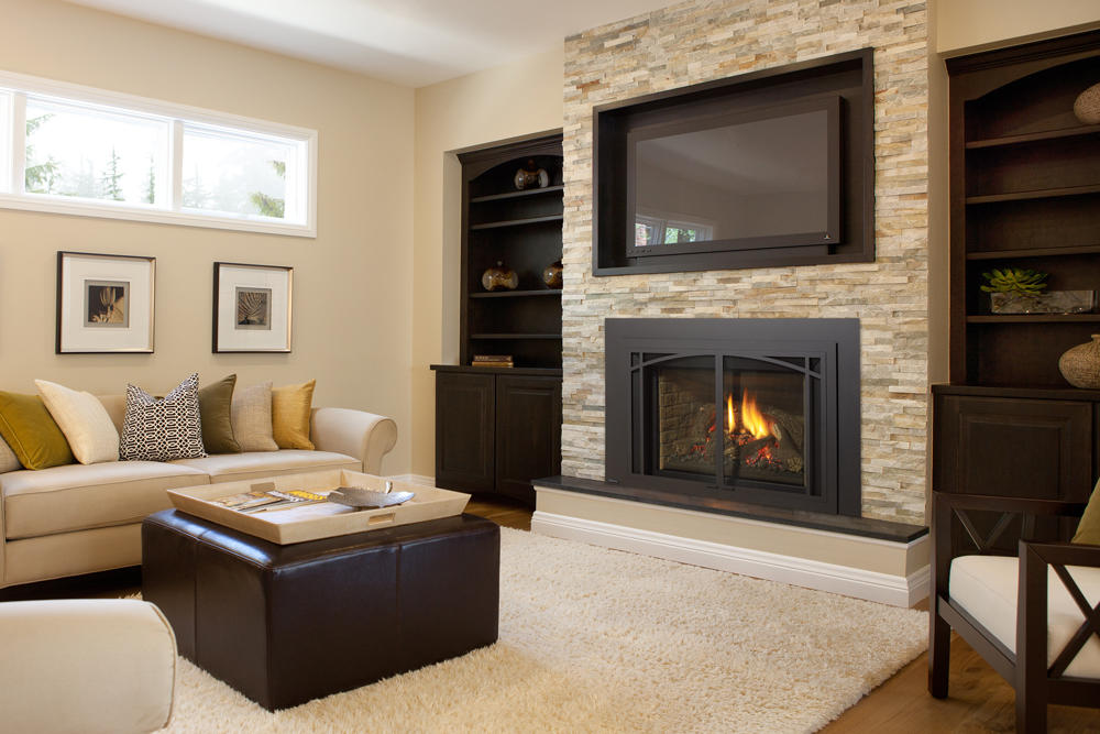 Fireplace Gallery in Edmonton: Regency Liberty Series Traditional Gas Fireplace Insert - LRI6